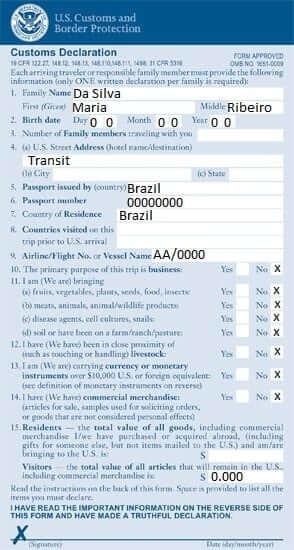 Do Brasil ao Canadá – Com escala nos Estados Unidos