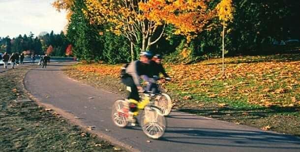 Descobrindo Vancouver de Bicicleta