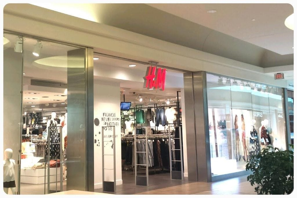H & M - Fairview