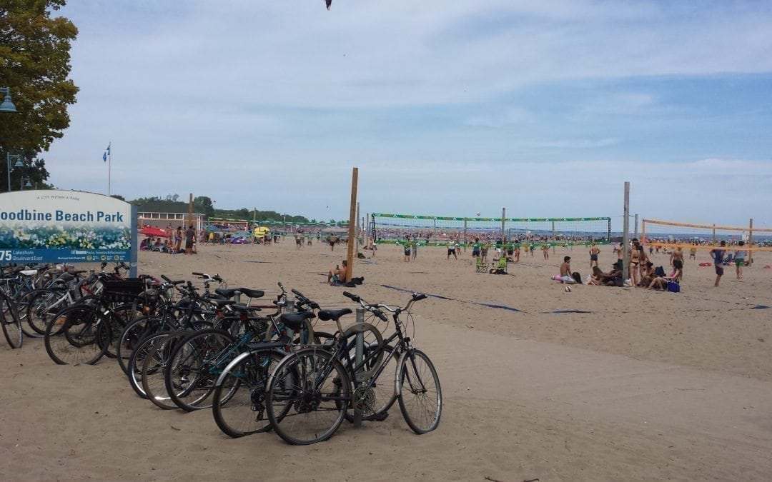Woodbine Beach:  a praia mais popular de Toronto